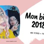 Mon bilan 2018 (+ faq)